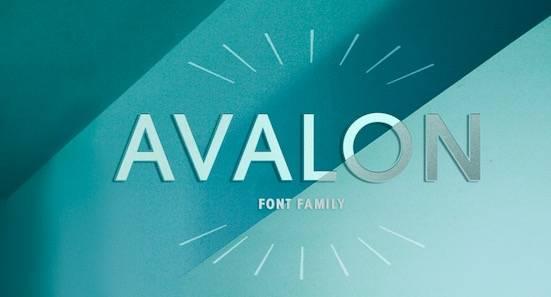 Avalon font free