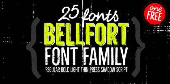 Bellfort Font free download