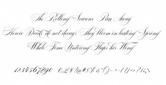 Bodega Script font