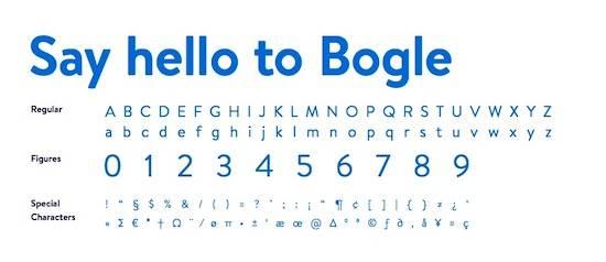 Bogle Font download