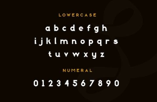Bogor font free