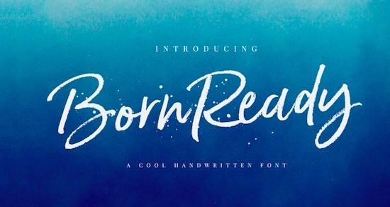 Born Ready font free download
