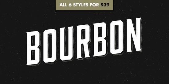 Bourbon font free download