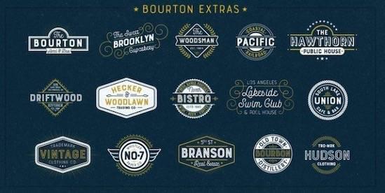 Bourton Font Family download
