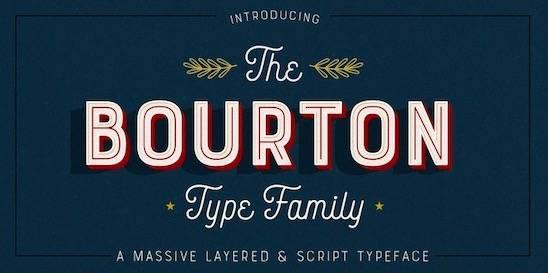 Bourton Font Family free download
