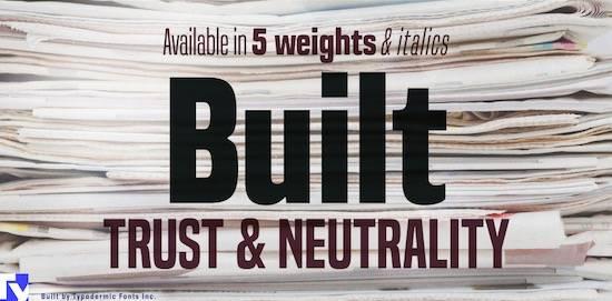 Built Masculine font free