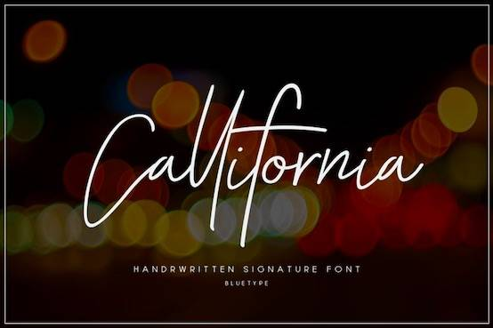 Callifornia font free download
