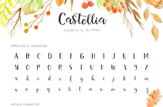 Castellia font download