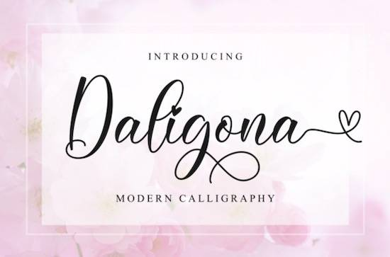 Daligona font free download