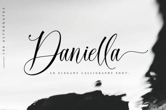 Daniella font free download