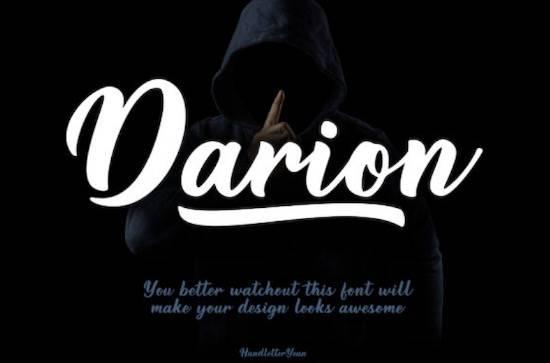 Darion font free download