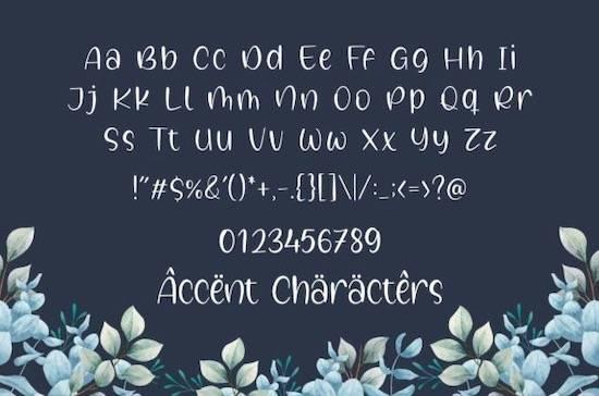 Galaxy Sprinkle font