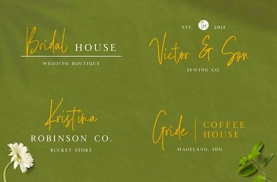 Goldenside font free