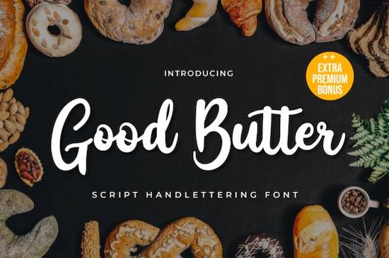 Good Butter font free download