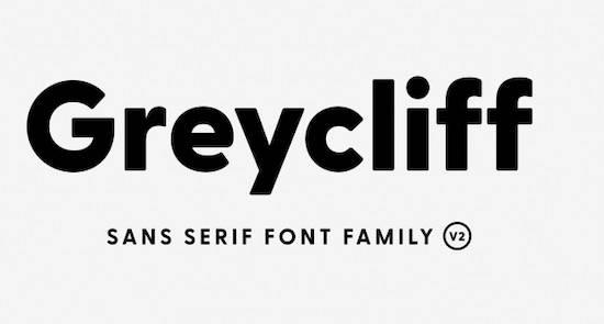 Greycliff CF font download