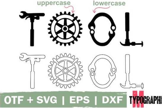 Hand Tool font download