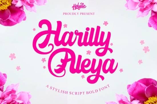 Harilly Aleya font free download