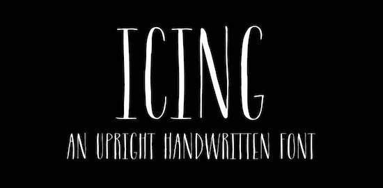 Icing font download