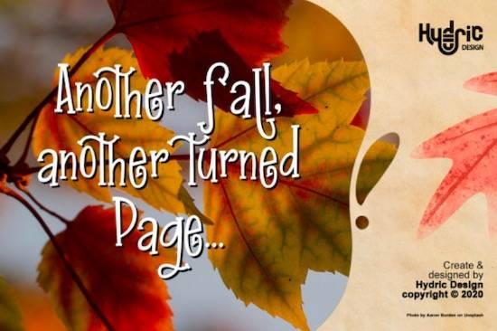 Inner Autumn font free