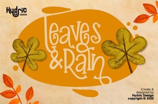 Inner Autumn font download