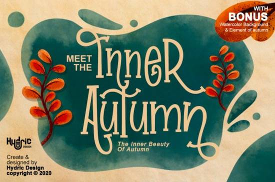Inner Autumn font free download