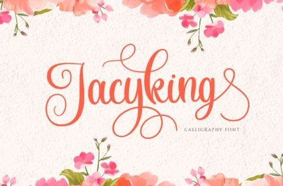 Jacyking font free download