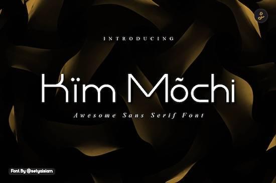 Kim Mochi font download free