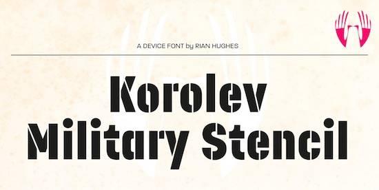 Korolev font download