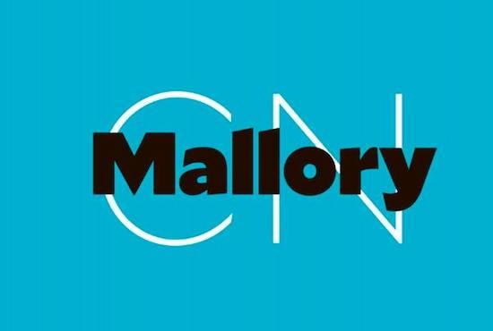 Mallory font free download