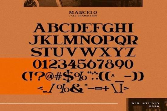 Marcelo font free