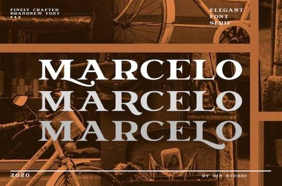 Marcelo font free download