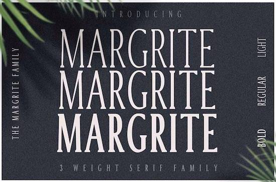 Margrite Tall Serif Font
