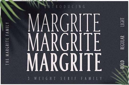 Margrite Tall Serif Font