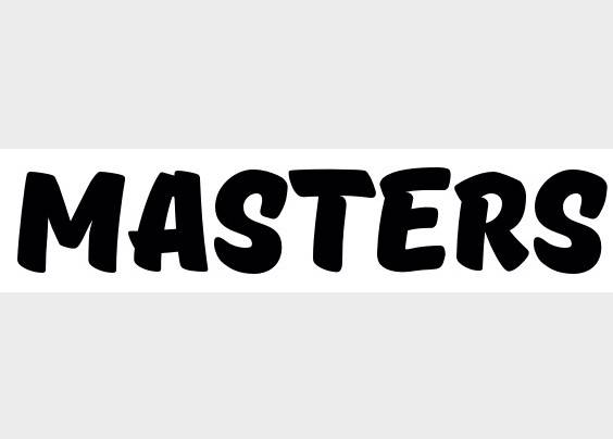 Masters font features