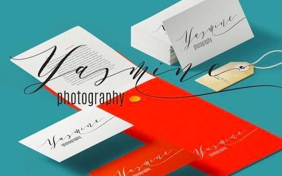 Melika Letter font