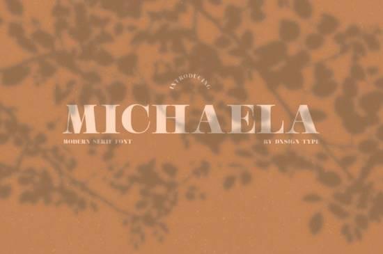 Michaela Font download