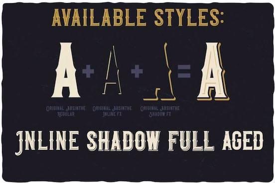 Preview Original Absinthe font download