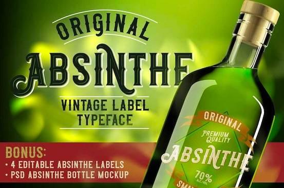 free Preview Original Absinthe font