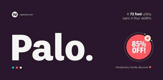 Palo font download