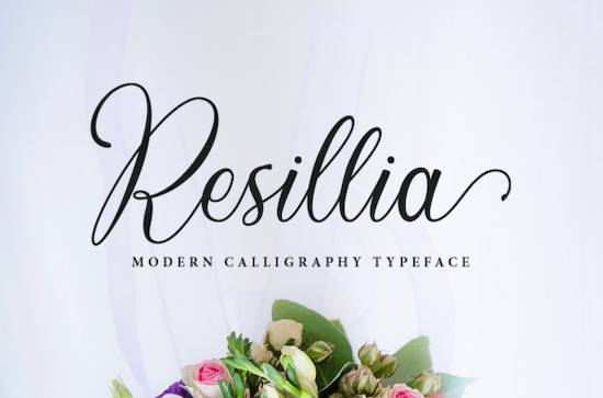 Resillia font free download
