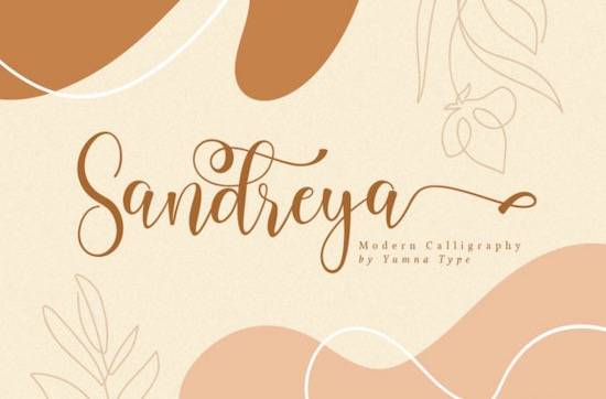 Sandreya font free download