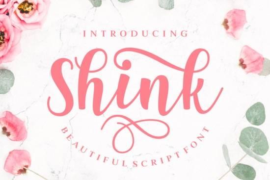 Shink font download