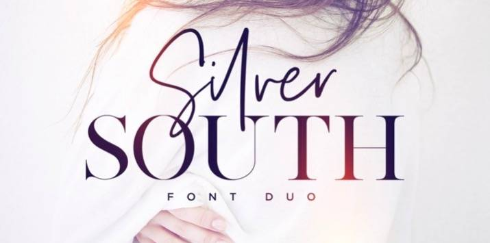 Silver South font features