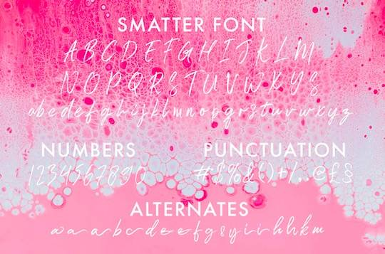 Smatter font download