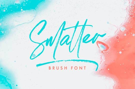 Smatter font free download