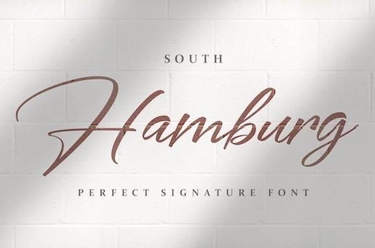 South Hamburg font free download