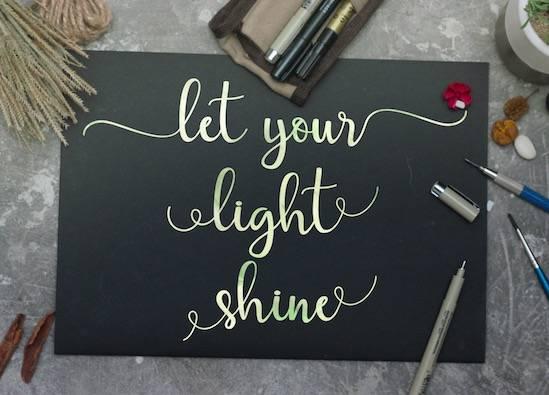 Streetlight font