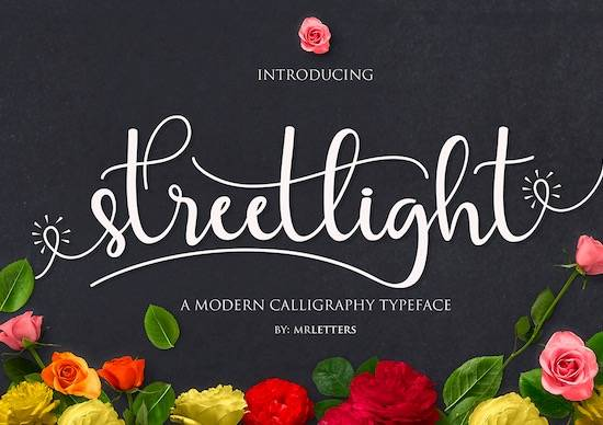 Streetlight font free download