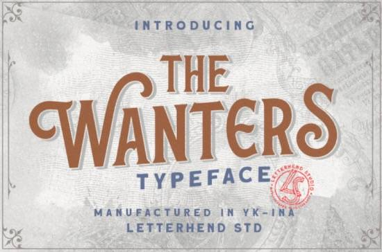 The Wanters font free download