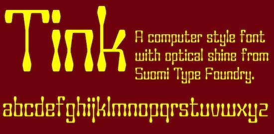 Tink font free
